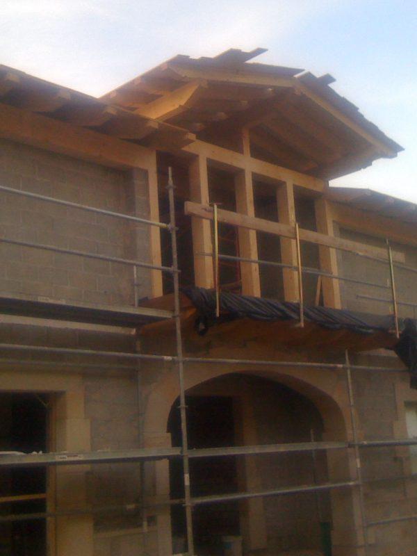 Construcción de casa en Olague Urival Construcciones SL